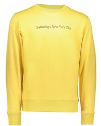 Saturdays NYC - Bowery Crew Sweater - Lyst