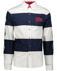 BBCICECREAM - Striped Poplin Shirt - Lyst