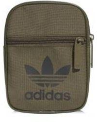576fbf7e3 Adidas Originals Falcon Waist Bag in Black for Men - Lyst