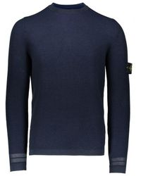 Stone Island - Knit Sweat - Lyst