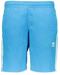 917e1b0216 adidas Originals Adidas 3sa Swim Shorts In Short Length in Yellow for Men -  Lyst