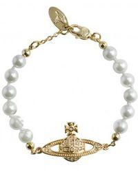 Vivienne Westwood | Mini Bas Relief Bracelet | Lyst
