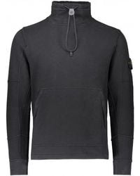 Stone Island - Brush Cotton Sweatshirt - Lyst