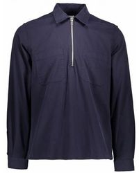 Paul Smith - Casual Ls Zip Shirt - Lyst