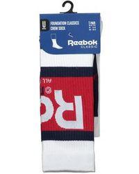 Reebok - Graphic Crew Sock - Lyst