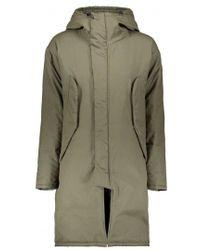 Monitaly - Harry Coat Poplin - Lyst