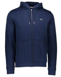 Lacoste - Hooded Zip Jacket - Lyst