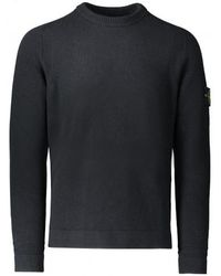 Stone Island - Lambswool Knitted Jumper - Lyst