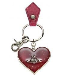 Vivienne Westwood - Mirror Heart Keyring - Lyst