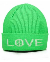 8208d99d25092 Paul Smith Men s Neon Yellow Wool Beanie Hat in Yellow for Men - Lyst