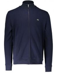 Lacoste | Zip Stand Up Collar Jacket | Lyst
