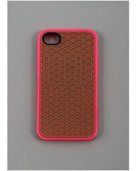 Vans - Iphone 4 / 4s Sole Case Magenta Pink Colour: Magenta, Uk Size: On - Lyst