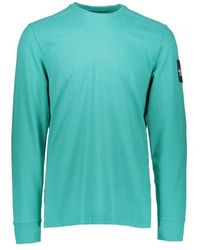 The North Face - Ls Fine 2 Tee - Lyst