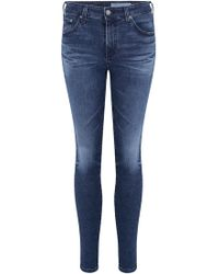 AG Jeans - Prima Cigarette Jean In 11 Years Contemplate - Lyst