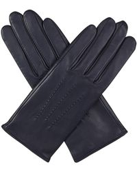 Agnelle - Julie Gloves In Navy - Lyst