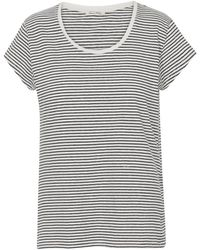 American Vintage - Ixa T-shirt In Natural Stripe - Lyst