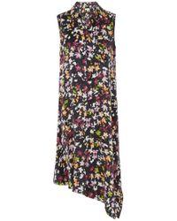Equipment - Tira Floral Dress In Eclipse Multi - Lyst