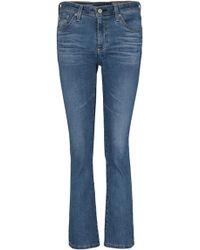 AG Jeans - Jodi Crop Jean In 10 Years Sea Mist - Lyst