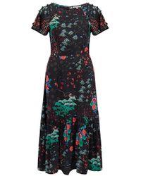 Lily & Lionel - Rae Dress In Wonderland Black - Lyst