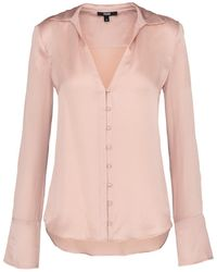 PAIGE - Toscani Blouse In Misty Rose - Lyst