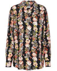 Equipment - Essential Floral-print Silk Crepe De Chine Shirt - Lyst