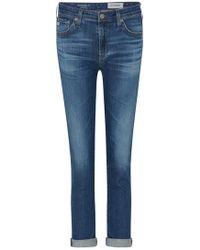 AG Jeans - Prima Roll Up Cigarette Jean In 12 Years Westward - Lyst