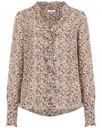 Parker - Tilly Blouse In Mini Camel Jungle - Lyst