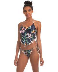 Trina Turk - Fiji Floral Mix Tankini - Lyst
