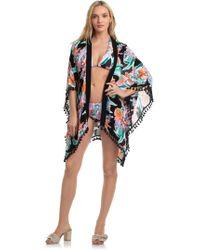 Trina Turk - Tropic Wave Kimono - Lyst