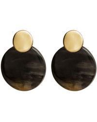Trina Turk Mix Coin Contrast Studs