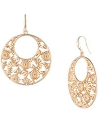 Trina Turk - Super Bloom Hoop Earring - Lyst