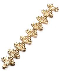 Trina Turk - Retro Botanics Flower Burst Bracelet - Lyst