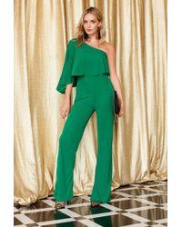 Trina Turk - Dresses Applause One Sleeve Jumpsuit - Lyst