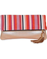 Trina Turk - Fold Over Clutch - Lyst