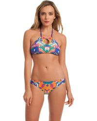 Trina Turk - Tapestry High Neck Bra - Lyst