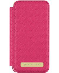 Trina Turk - Iphone 7 - Basket Weave Folio Fuchsia - Lyst