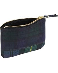 grandes ofertas en moda niño precio especial para CDG Billetera Tartan Patchwork Verde (SA8100TP)