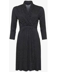 French Connection - Caressa Wrap Dress - Lyst