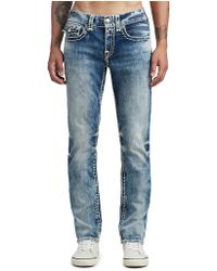 True Religion - Geno Slim Super T Jean - Lyst