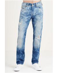cc05bcf00fa7 True religion Geno Slim Mens Moto Jean for Men