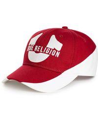 Lyst - True Religion Straw Fedora in Natural for Men c4b087011811