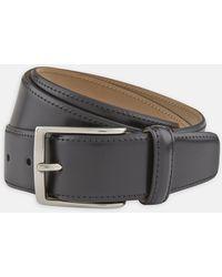 Turnbull & Asser - Black Smooth Leather Belt - Lyst