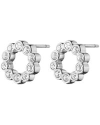 Dyrberg/Kern - Sally Flower Crystal Earrings - Lyst