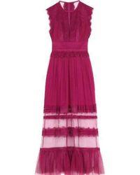 Three Floor - Zen Pink Maxi Dress - Lyst