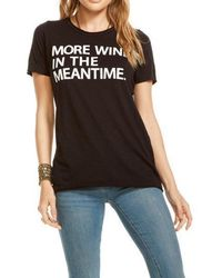Chaser - More Wine In The Meantime Tee - Lyst