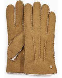 UGG - Sheepskin Mixed Glove Sheepskin Mixed Glove - Lyst