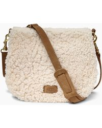 UGG - Women's Livy Sheepskin Saddle Bag - Lyst
