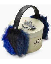 UGG - Women's Multi Fur Leather Earmuff - Lyst