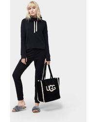 UGG - Women's French Terry Miya Funnel Neck Jumper - Lyst