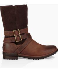 UGG - Women's Lorna Waterproof Leather Boot - Lyst